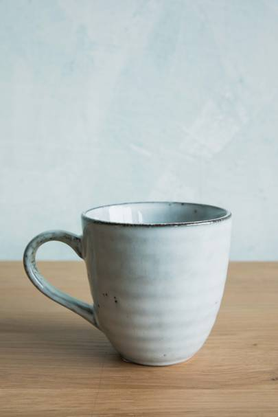 26. Blue Dappled Mug