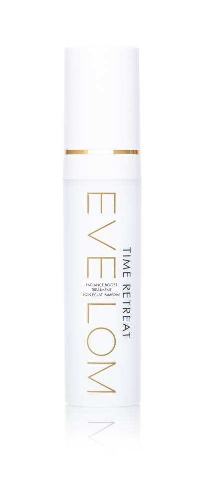 March 26: EVE LOM Time Retreat Radiance Boost Treatment 30ml, £75.00
