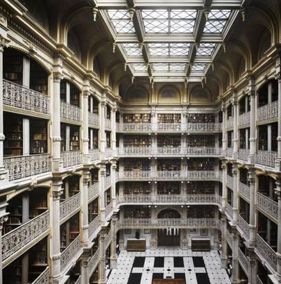 George Peabody Library, Johns Hopkins University, Baltimore