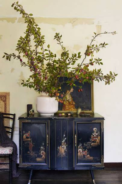 Plum Branches - Decorating With Flowers - Arrangement Ideas