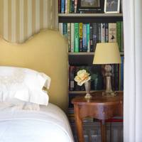 Yellow Victorian Bedroom