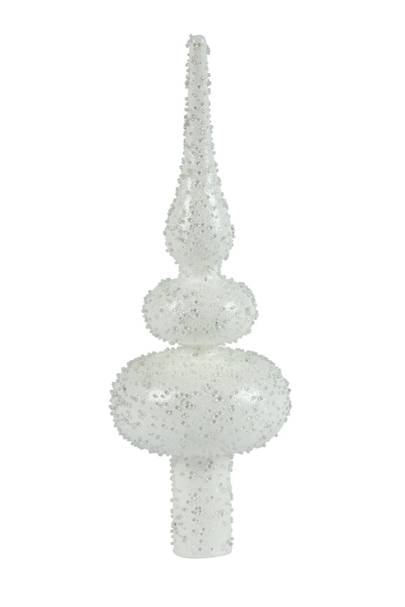Glass Finial Tree Topper