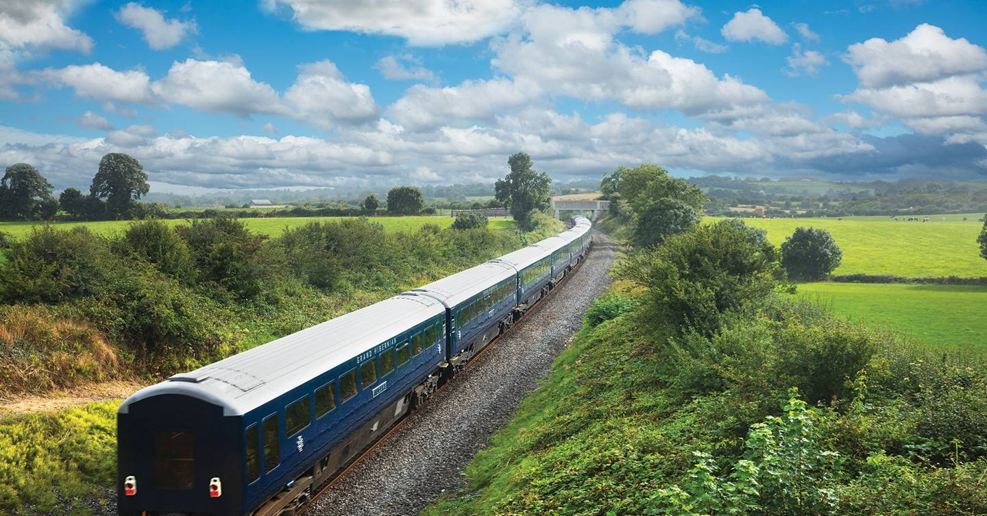 The most delightful way to see Ireland? Old fashioned luxury train