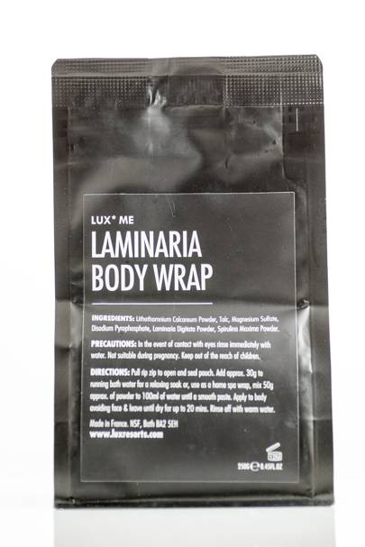 February 20: LUX* Me Lamineria Slimming Body Wrap, £34