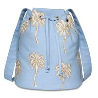 July 29: Elizabeth Scarlett Palmier Chambray Bucket Bag, £40
