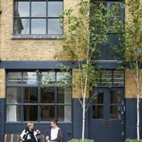 Atelier Exterior - Anna Valentine's Bright London Flat