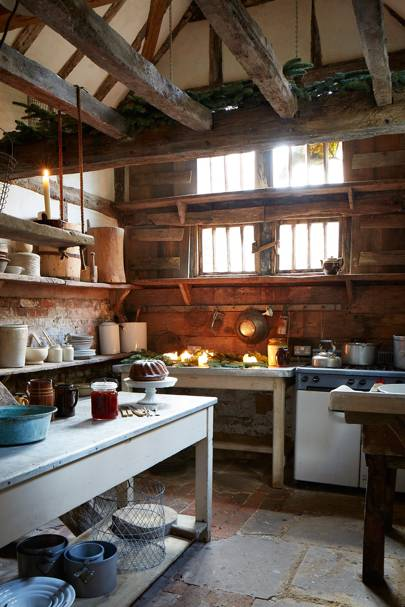 Rustic Kitchen - Tudor House