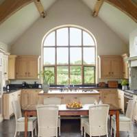 Arched Roof Kitchen