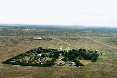Aerial View - Segera Retreat Kenya
