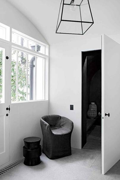 Study Entrance - Architect's Pale Family Home
