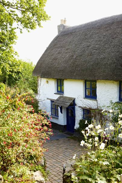 Cornish traditional cottage