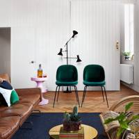 Seventies-inspired Living Room