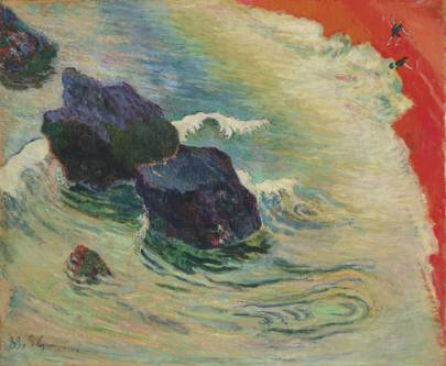 PAUL GAUGUIN (1848–1903) La Vague
