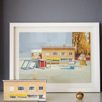 Shelf Detail - Modern Colourful Thirties House