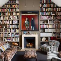 The Sitting Room | Caroline Holdaway former artist's studio | Living Room Design Ideas