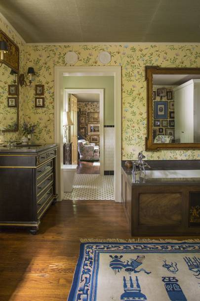 Bathroom -  Madcap Cottage Bright Pattern House