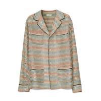 Pyjama-Style Silk Blouse