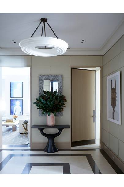 Hallway - Modern Park Avenue Apartment