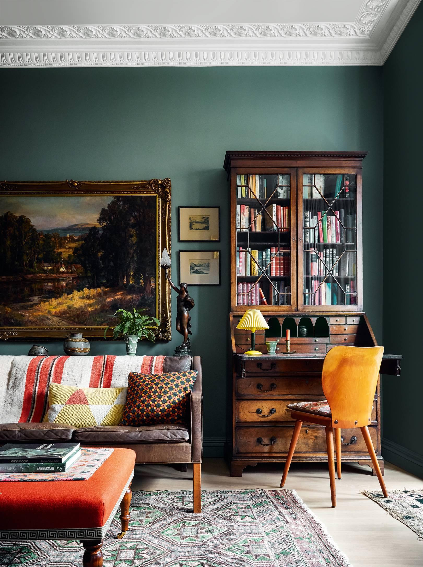 Brandon Schubert's Belsize Park flat is a winning combination of American and English styles