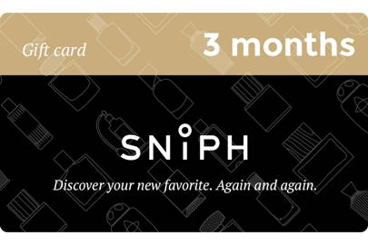 February 6: Three Month Fragrance Subscription, £54.00
