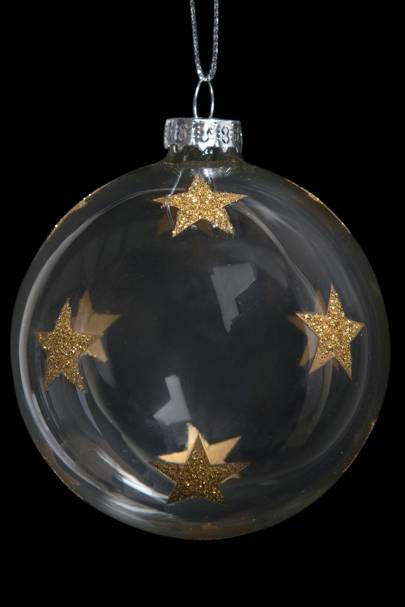 Glass Star Bauble from India Jane