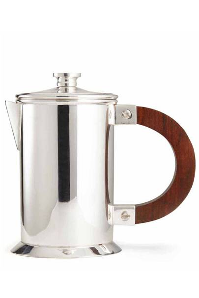 Silver Plated Brass Audley Small Coffee Press