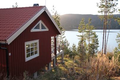 Swedish Lake Cabin