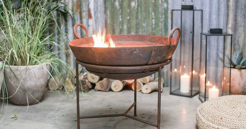The best fire pits for a warm winter garden