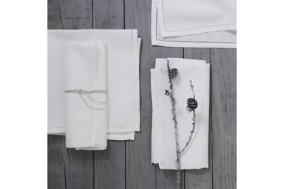 January 11: The White Company Seville Napkins (set of four), £25