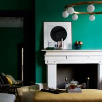 Emerald Green Living Room