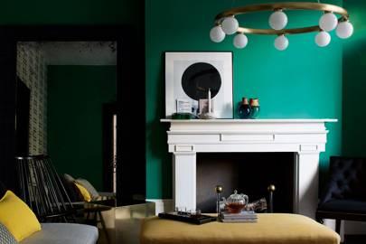 Emerald Green Living Room: 2 V 05