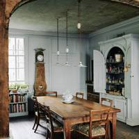 Dining Room - Traditional Bath B&B | Real Homes