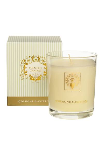 December 17: Cologne & Cotton Lemongrass Candle, £20