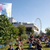 Queen Elizabeth Roof Garden Bar and Cafe, The Southbank