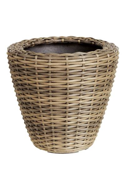 Ivyline Medium Rattan Planter