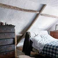 White Attic Bedroom | Bedroom Decoration Ideas