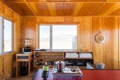 If you want to learn to live with less—and be more comfortable alone: The Wonder Valley Experimental Living Cabins - Wonder Valley, California