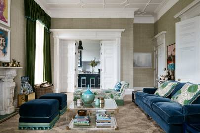 Living Room - Victorian Country House