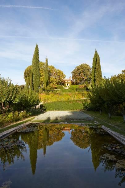 Domaine de la Baume: Gardens
