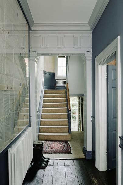Hallway - Traditional Bath B&B