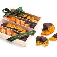 Chocolate Candied Oranges and Lemons