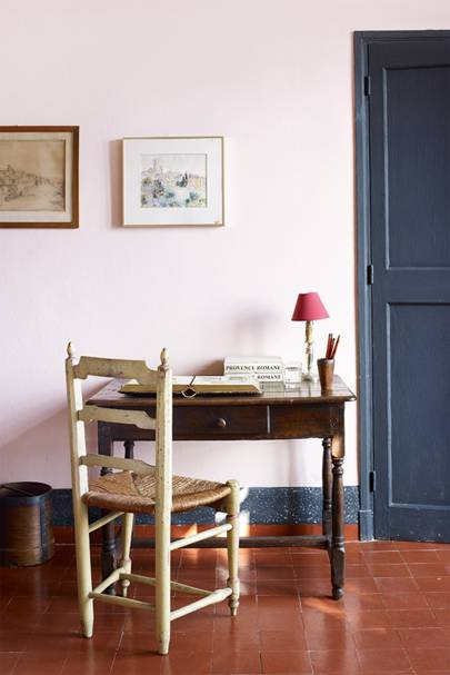 Pink Workspace - A House in the South of France