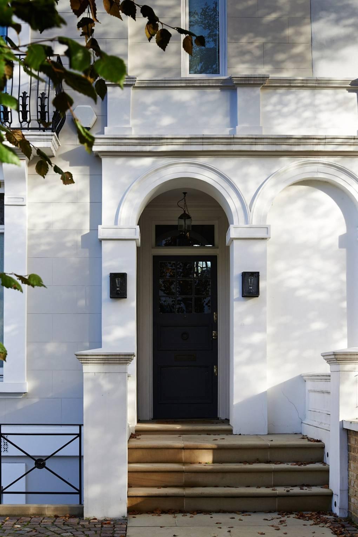 80 Alluring Front Door Designs To Refine Your Home: Home Front Door Arch Design