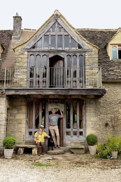 House Facade - Rustic Oxfordshire Barn