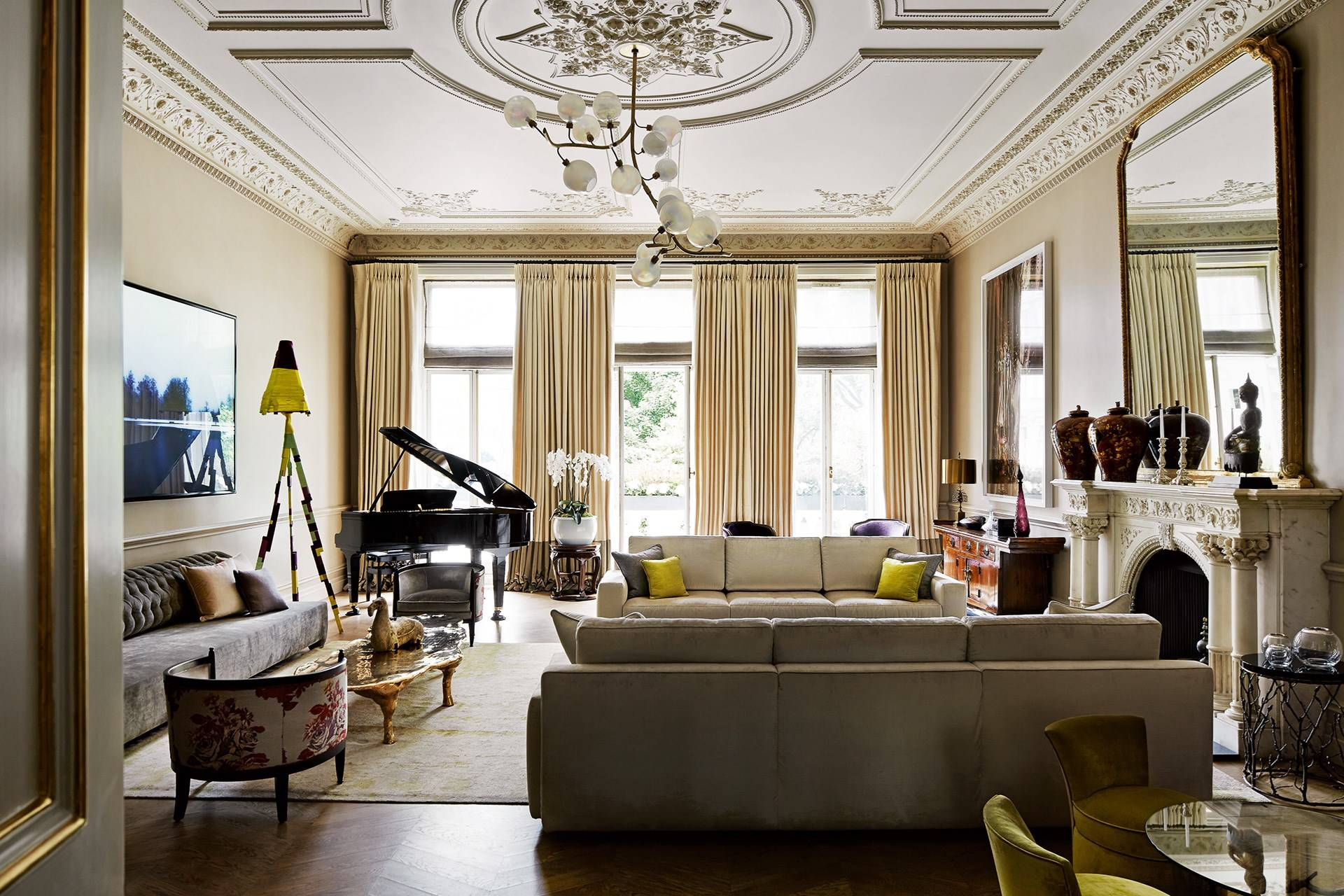Old & New - Living Room Ideas, Furniture & Designs - Decorating Ideas | House & Garden