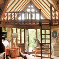 Living Room Mezzanine - 18th Century Rustic Barn