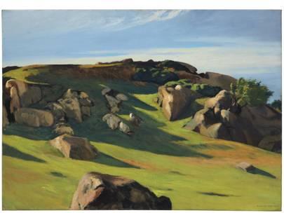 EDWARD HOPPER (1882–1967) Cape Ann Granite