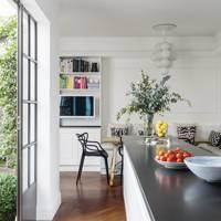 Small White Bespoke Kitchen