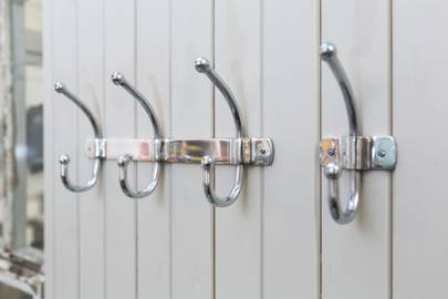 Polished Aluminium Hooks, £6.50