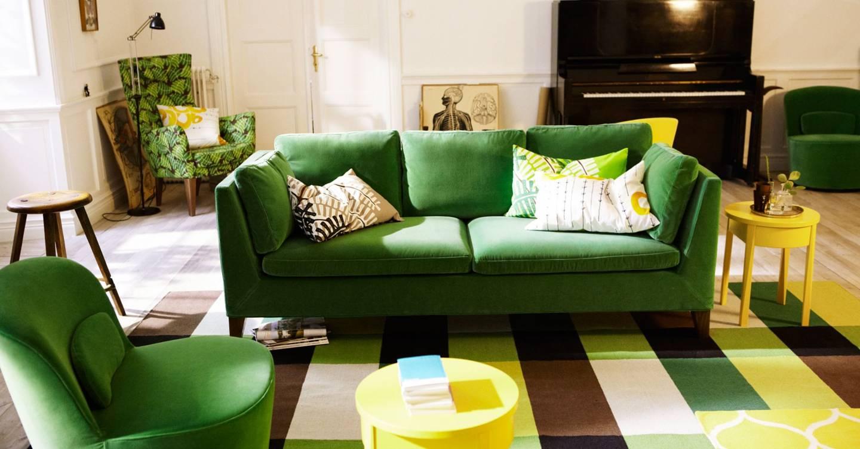Green Sofa Living Room Design Ideas Pictures Decorating Ideas House Garden